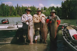 Guided fishing with the Fenton Bros Guided Sportfishing is not only safe but also effective.